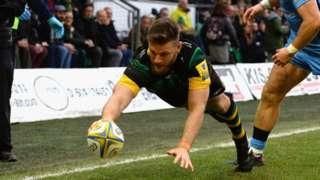 Northampton Saints' Rob Horne
