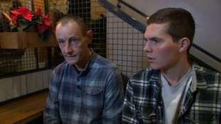 Simon Jenkins (l) and Tom Biggart (r)
