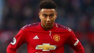 Manchester United forward Jesse Lingard