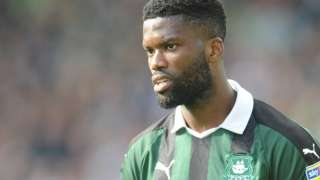 Joel Grant in action for Plymouth Argyle