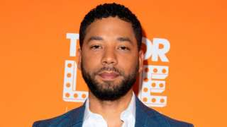 Jussie Smollett at an event