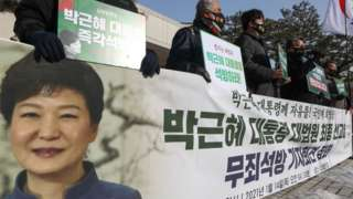 국정농단 등으로 기소된 박근혜 전 대통령에 대한 대법원의 두 번째 판결이 열리는 14일 오전 경기도 의왕시 서울구치소에 긴장감이 흐르고 있다