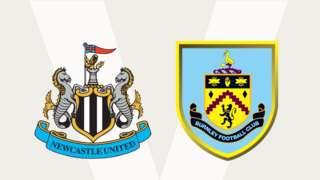 Newcastle United v Burnley