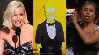 Michelle Williams, Homer Simpson and Laverne Cox