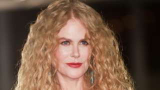 Nicole Kidman pictured at the Academy Museum of Motion Pictures gala in Los Angeles in September 2021