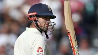 Alastair Cook now has 57 Test half-centuries