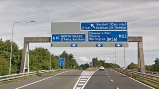 junction 5 of M53
