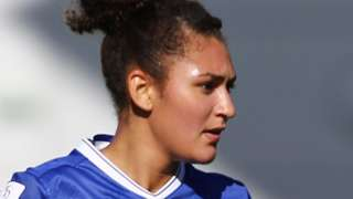 Jade Bailey playing for Chelsea
