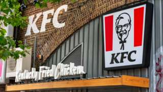 KFC restaurant at Waterloo, London