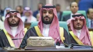 มกุฎราชกุมาร โมฮัมเหม็ด บิน ซัลมาน ที่การประชุม องค์การความร่วมมืออิสลาม ในนครเมกกะ ประเทศซาอุดีอาระเบีย (30 พ.ค. 2019)