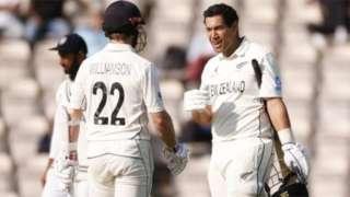 వరల్డ్ టెస్ట్ ఛాంపియన్ షిప్ ఫైనల్ లో భారత జట్టుపై న్యూజీలాండ్ విజయం సాధించి కప్ గెలుచుకుంది.