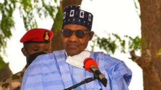 Perezida wa Nigeria Muhammadu Buhari