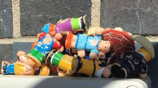 Toys founded in sewage works
