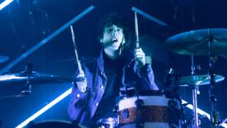 The Sherlocks drummer Brandon Crook