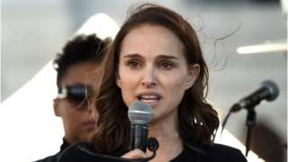 Natalie Portman Women's March