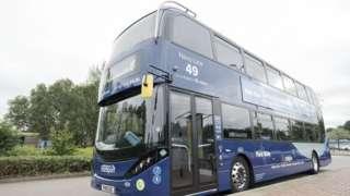 Nottingham City Transport bus