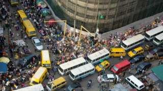 Transport: Lagos traffic