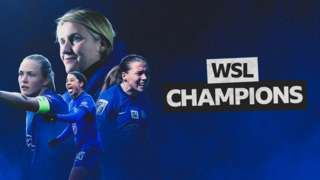 Chelsea win the WSL title
