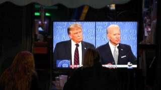 BBC'nin Kuzey Amerika muhabiri Anthony Zurcher, ABD başkanlık yarışının adayları Donald Trump ve Joe Biden arasındaki tartışmada kimin öne çıktığını kaleme aldı.