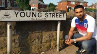 Azad Miah on Young Street