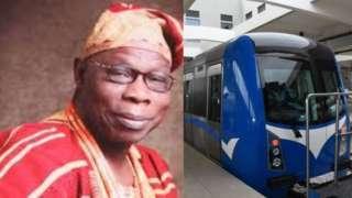 Obasanjo ati ọkọ oju irin
