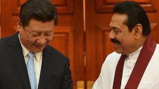चीन-श्रीलंका