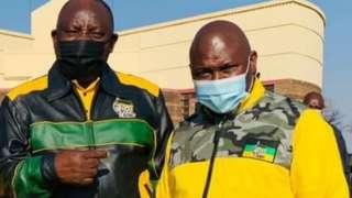 South Africa president mourn di death of Jolidee Matongo