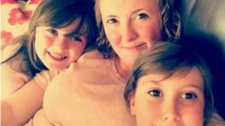Katie and her daughters
