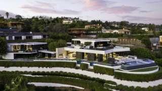 洛杉矶的豪宅让人着迷(Credit: TYLER HOGAN)