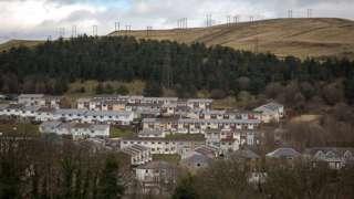 Ebbw Vale in Blaenau Gwent