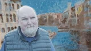 Alan Hughes and his art