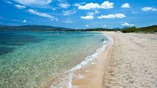 Mennena Beach, Arzachena, northern Sardinia