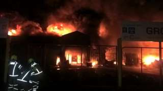 Romford fire