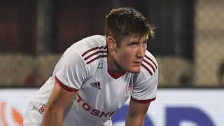 England's Liam Sanford