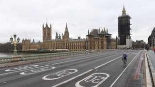 Вестминстер көпүрөсү жана парламент имараты