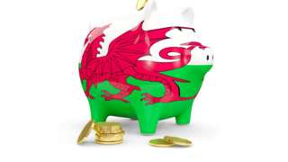 Wales piggy bank
