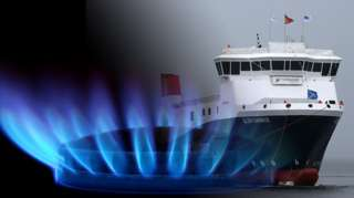 gas flame andGlen Sannox