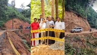 Sinharaja road development project