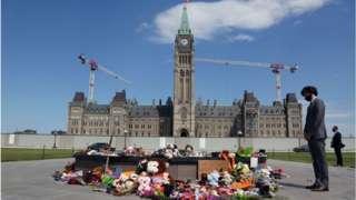 Trudeau on Parliament Hill