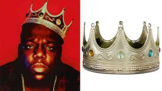 The Notorious B. I. G. and his crown