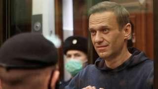 Алексей Навальный во вторник в московском суде