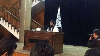 Taliban tok-tok person
