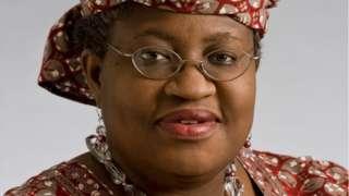 Ngozi Okonjo Iweala WTO - World Trade Organization DG Candidate