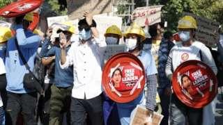 Maandamano ya Yangon dhidi ya mapinduzi ya tarehe 10 mwezi Februari