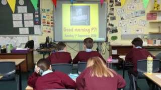 Primary school clasroom