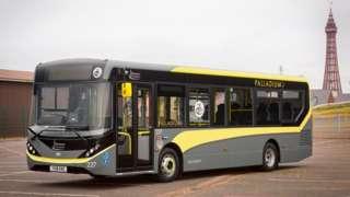 Blackpool Transport bus