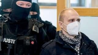 Штефана Баллита в суде