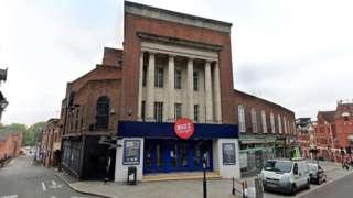Shrewsbury's Grade II listed Granada Theatre