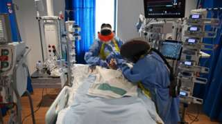 Intensive care staff