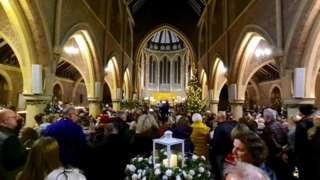 Congregation in Kirk Braddan